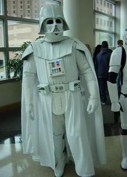 Albinó Darth Vader az ILM-nél (forrás: Google)
