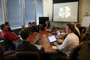 Prezentáció az NVIDIA-nál (forrás: Demotrip Blog)