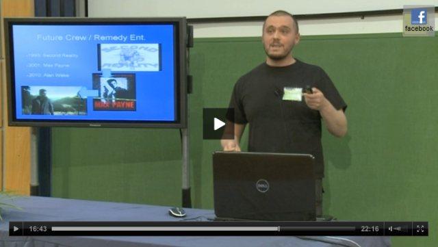 Játékfejlesztés és demoscene előadás