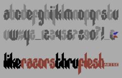 razor_font