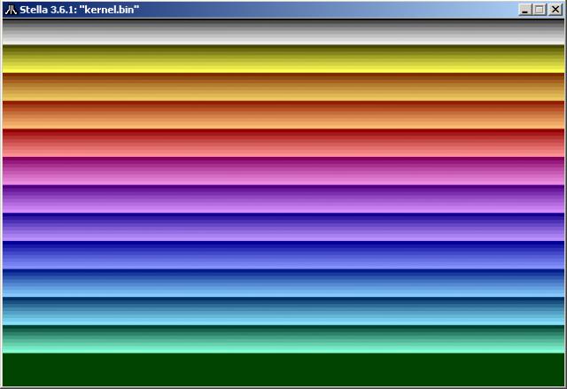 NTSC kernel