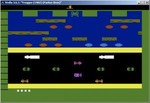 Frogger - Parker Bros (1982)